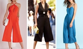 How to Wear the Culotte Jumpsuit in Fall