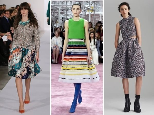 fall trend two-piece dresses