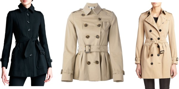 investment short trench coats