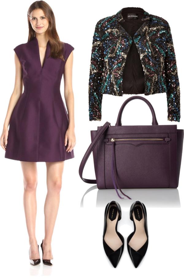 rich marsala cocktail dress