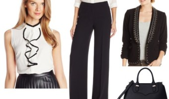 3 Ways to Wear the Classic High-Waist Wide Leg Pants to Work