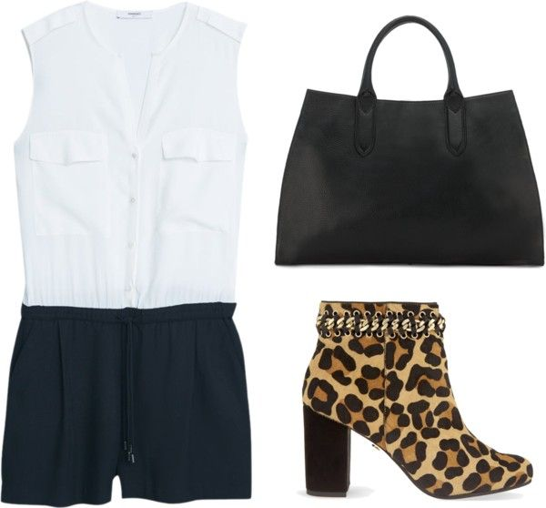 Leopard Ankle Boots Outfit