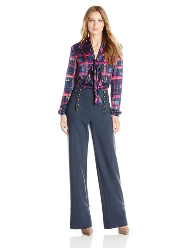 Nanette Lepore Womens Rebellion Top + underground trousers