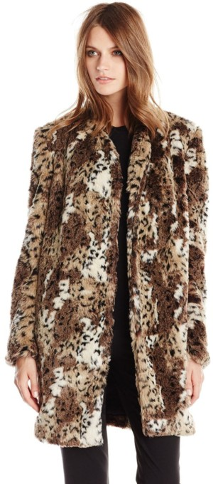 Rebecca Taylor Women's Faux-Fur Coat