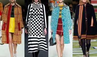 Runway-Inspired: Bold + Graphic Coats for Fall and Winter