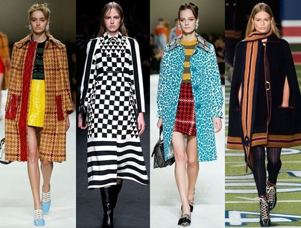 bold and graphic coats for fall