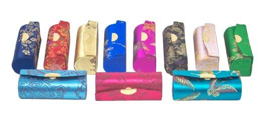 Asian Brocade Lipstick Cases