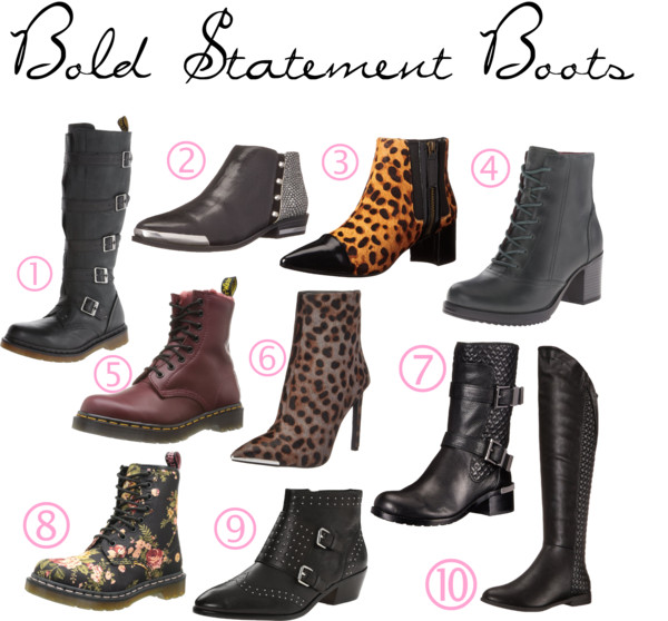 Bold Statement Boots