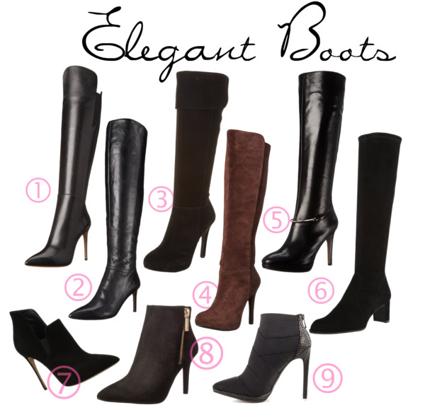 Classic High Heeled Boots
