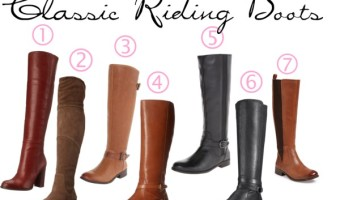 5 Styles of Fashionable Boots to Have this Fall and Winter