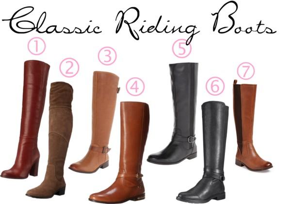Equestrian Classic Riding Boots
