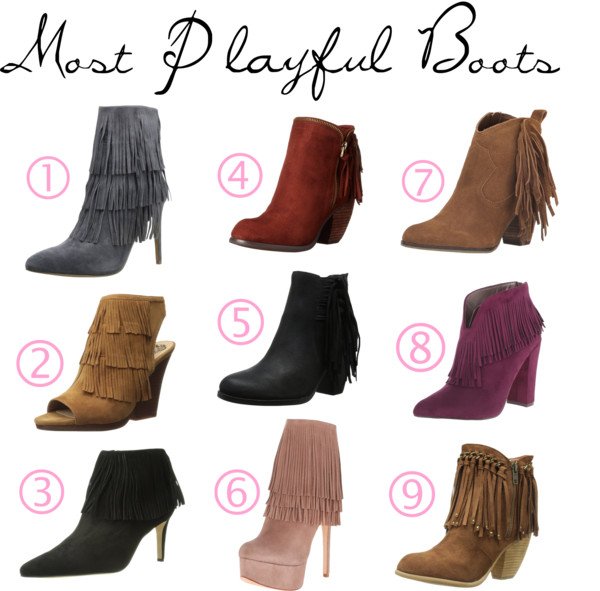 Fringed Boots for Fall