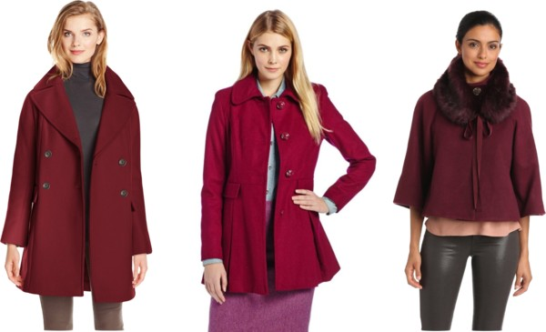 Oxblood coats