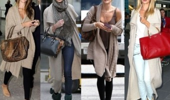 Style Cue to Steal from Rosie Huntington-Whiteley: Cozy + Chic Long Cardigan