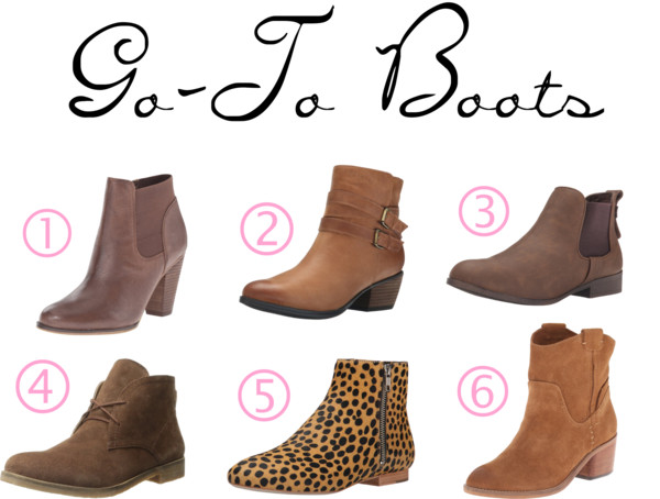 Weekend Casual Boots for Fall