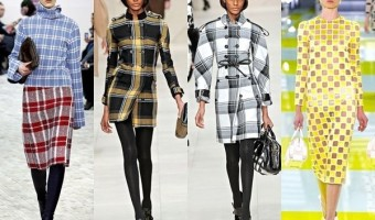 The Comeback of Check Print for Cold Season