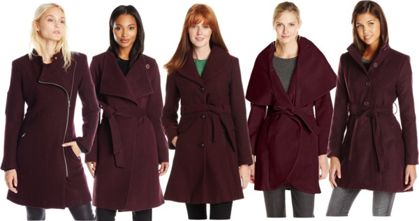dark wine coats