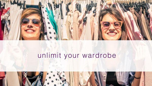mooch app unlimit your wardrobe