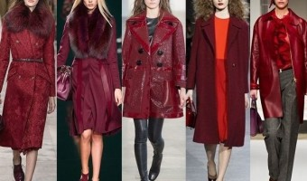Now Trending: Shades of Wine Coats and Jackets