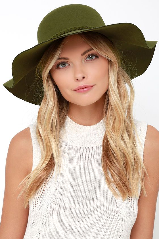 Caravan Crossing Olive Green Hat