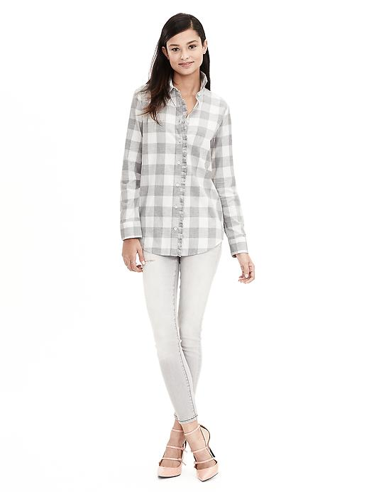 Soft-Wash Buffalo Check Flannel Shirt