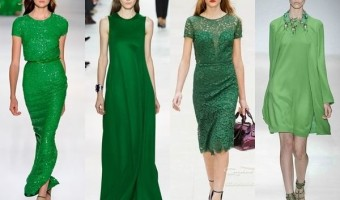 Now Trending: Green Dresses