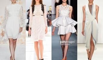 Spring 2016 Trend Alert: White Dresses