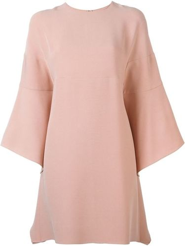 Valentino flared sleeve dress