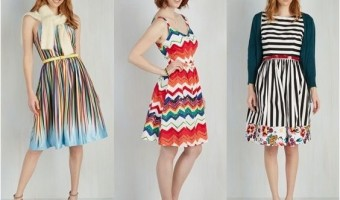 Brighten Up Your Closet with Rainbow Dresses
