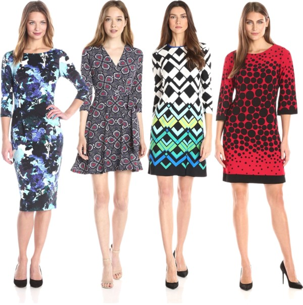 Over the Head Quarter Sleeve Dresses