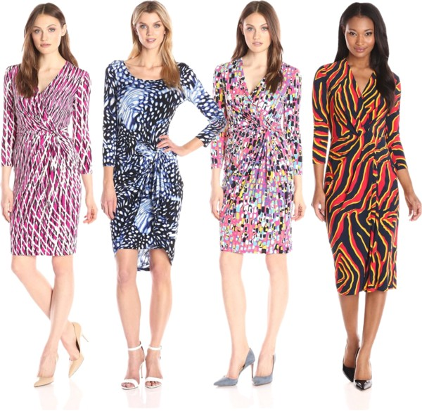The Sexy Twist Quarter Sleeve Dresses