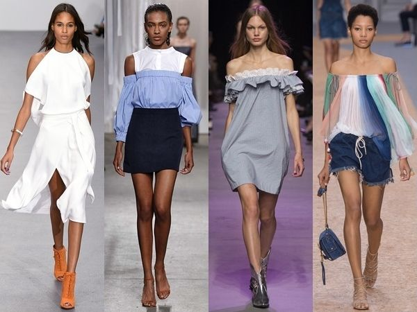 cold shoulder trend for spring