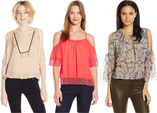 how to wear the cutout shoulder top