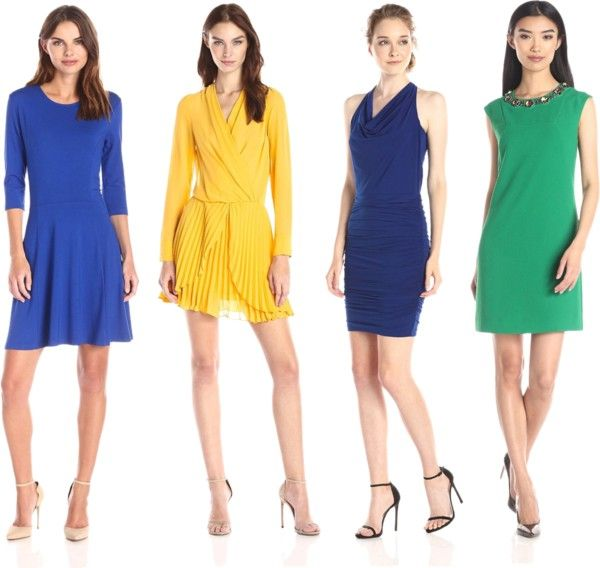 Colored Dresses for Romance