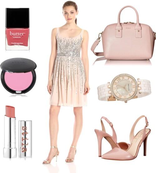 Sleeveless Beaded Party Dress