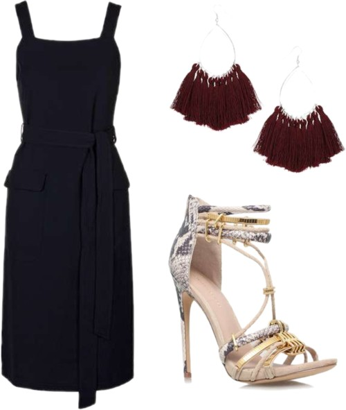 Soft Pinafore Dress