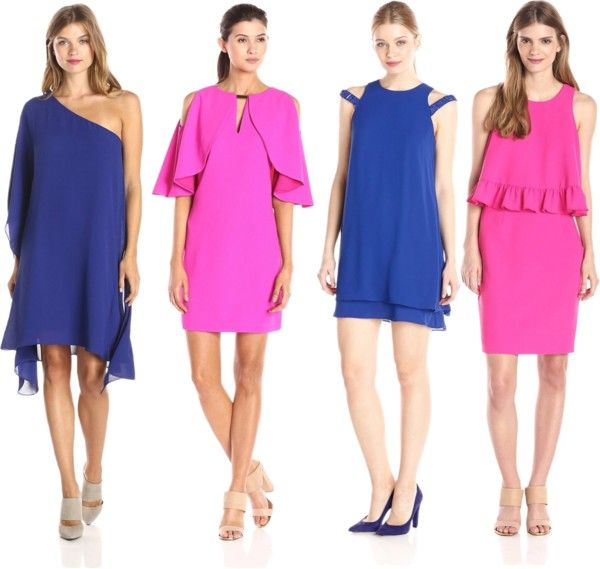 bold colored dresses for cocktail parties
