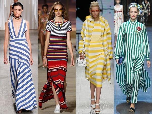 spring trend fine stripes