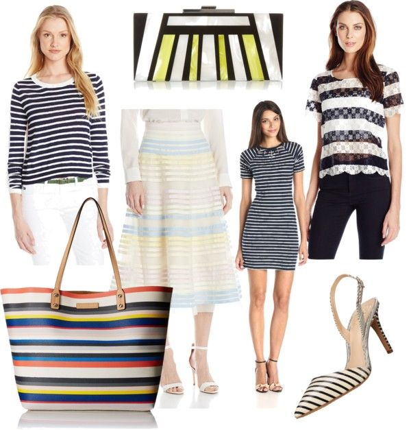 spring trend mix and match stripes