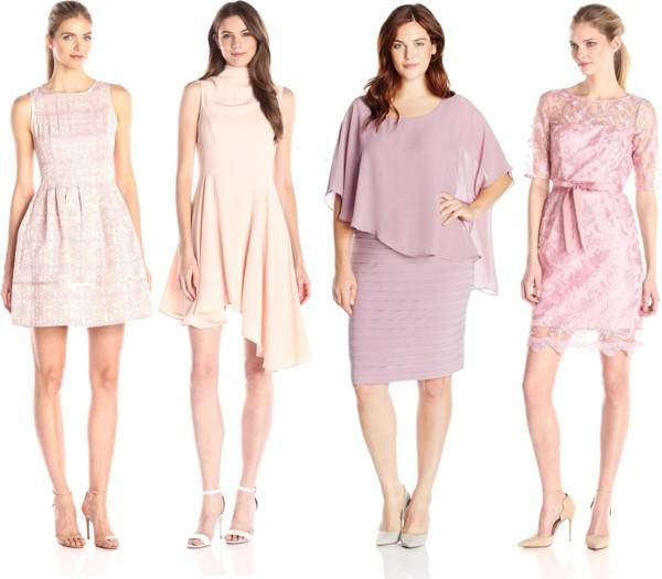 ultra feminine rose quartz dresses