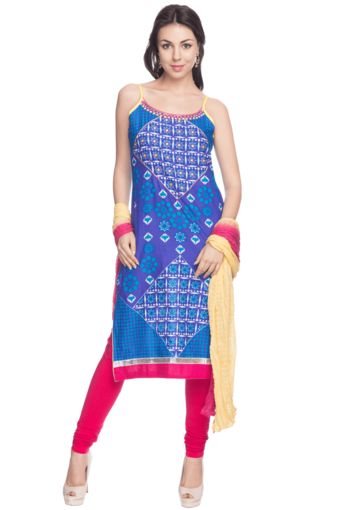 1 Women A-Line Churidar Suit