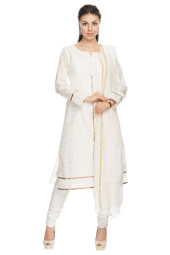 3 Womens Churidar Kurta Dupatta Set