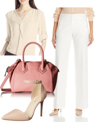 Double Luxe Wide Leg Pant for Work