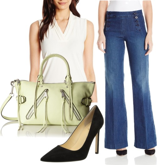 Sailor Wide-Leg Jeans