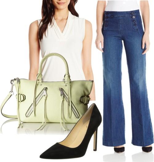 Sailor Wide-Leg Jeans