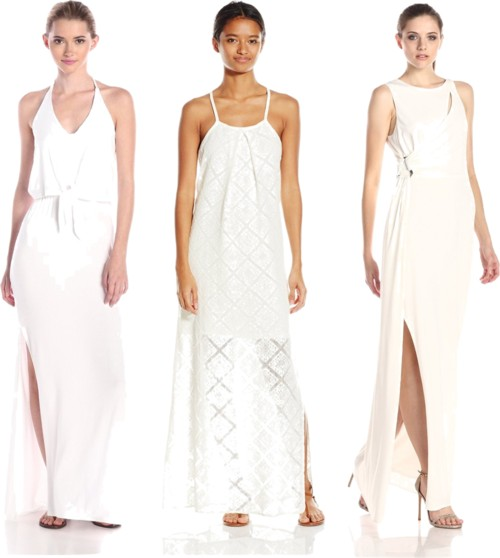 have fun with white maxi dresses