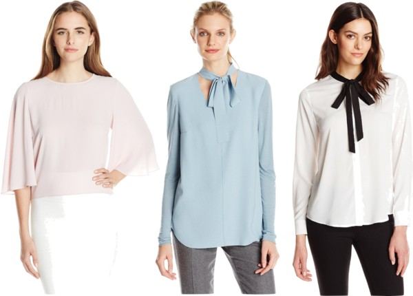 pastel blouses for work