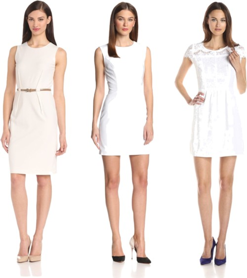 white dresses for work