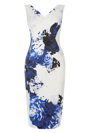 CAIRO PRINT MIYA SHIFT DRESS