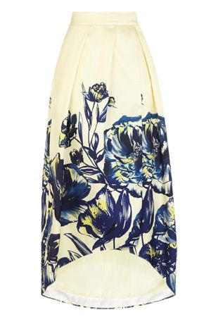 MINA JACQUARD FULL SKIRT